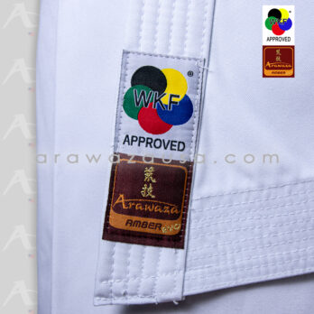 Arawaza Amber Evolution WKF Approved