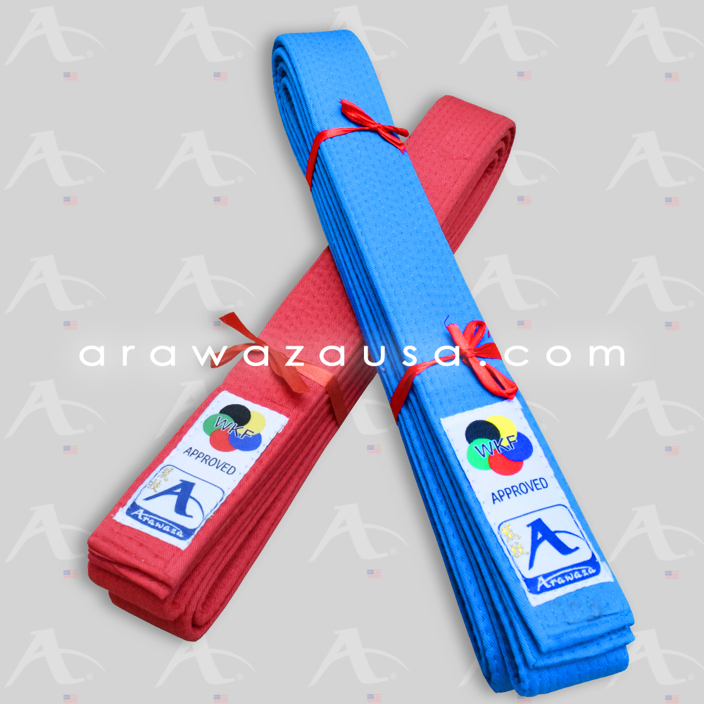 Arawaza WKF Approved Japanese Style Kata Belts