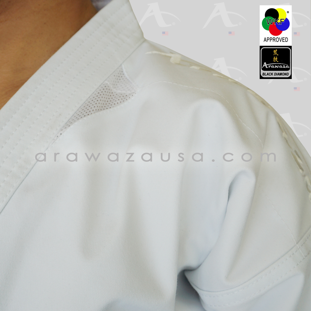 Arawaza Black Diamond WKF Approved