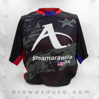 Arawaza AAir Tech Fabrics T-Shirt – model USA