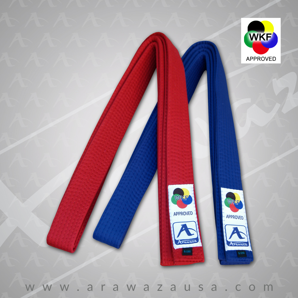 Arawaza WKF Approved Kumite Belts